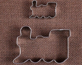 Train Cookie Cutters Set, Mini Train Cookie Cutter, Train Party Cookie Cutters, Metal Cookie Cutters, Sugar Cookie Cutters, Pastry Cutters