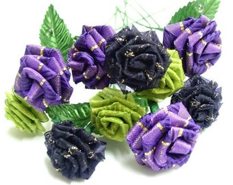 Purple Garden Rose Bouquet