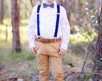 Vintage Style Pageboy - Boys White Collared Shirt