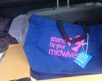 Stand by your Midwife tote to support Yelena Kolodji