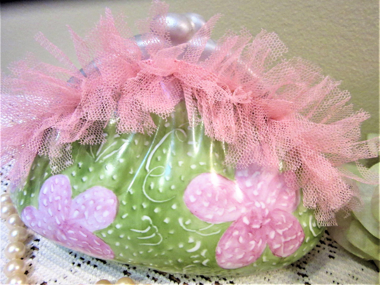 Banks Piggy Purse Coin Victorian Girls Pink Porcelain Ceramic