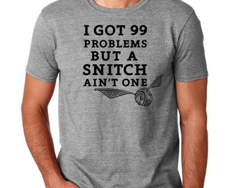 Harry Potter Inspired Quidditch Snitch T-Shirt