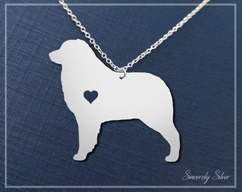 Shepherd Necklace, Australian Shepherd Necklace, Shepherd Pendant, Dog Necklace, Dog Lover Necklace