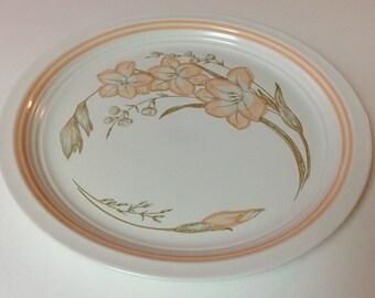"Baker Hart & Stuart ""Michelle"" Chop Plate Platter, 1980s Japanese Stoneware Chop Plate"