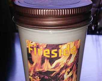Fireside Jelly jar