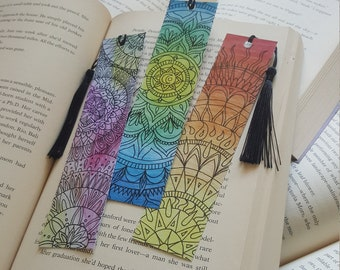 Beautiful Handmade Mandala Bookmark