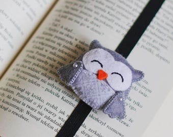 Bookmark Grey Owl