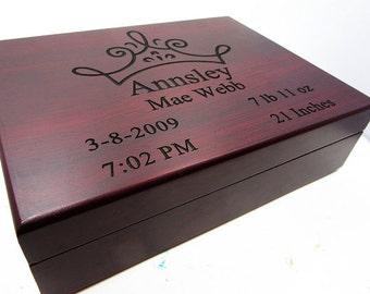 Flower Girl Gift Box, Baby Memory Box, Baby Keepsake Box, Ballet Box, Tiara Box, Hobby Horse Box, Footprints Memory Box, Jewelry Box