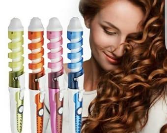 Magical hair curling