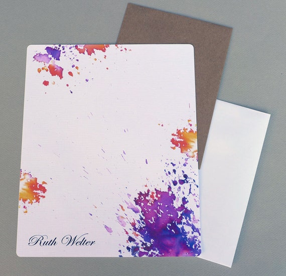 Personalized letter paper
