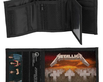 Metallica - Master of Puppets Premium Trifold Wallet with Keychain