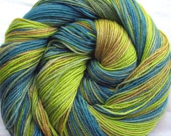 Superwash Merino/Bamboo/Nylon Sock Yarn Hand Painted