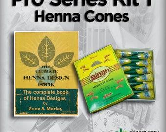 Pro Series Kit 1 (Henna Cones)