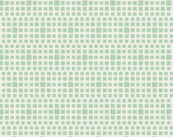 Squared Elements by Art Gallery Fabrics, Seafoam, SE-604