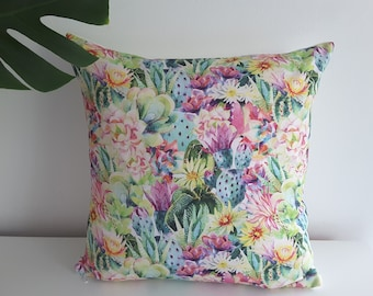 """Cushion cover """" Watercolor Succulents"""""""