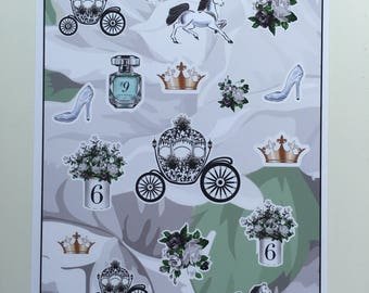 Live your Fairytale Decortive Stickers