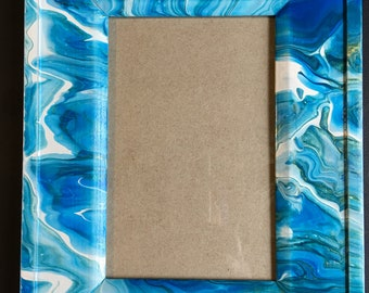 Painted Photo Frame - Holds 4x6 photo