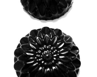 Black Dahlia | Handmade Glycerin Soap with Activated Charcoal