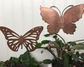 Copper Butterfly Set