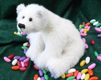 Polar teddy bear PDF sewing pattern - Isabear