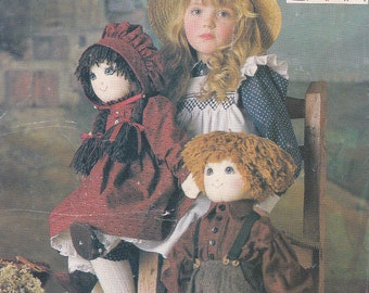 Vogue patterns by Linda Carr craft 9699 uncut doll and clothes 22 inch sewing pattern