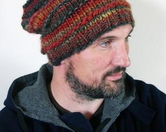 Bill's Rustic Beanie knitting pattern .pdf