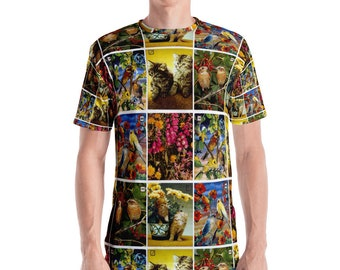 Vintage Postcards Men's T-shirt