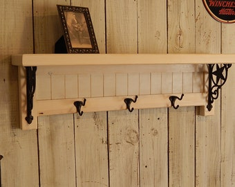 Country Western Hallway Shelf