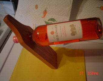 Wine bottle balancers.