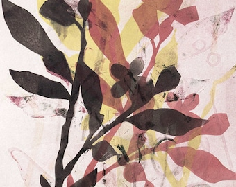 Early Fall – Original Monotype Print