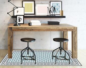 CORDOBA blue - vinyl mat