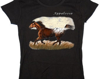 Ladies T-shirt / Appaloosa Horse