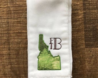 Idaho Burp Cloth