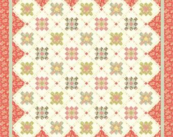 Strawberries 'n Cream PDF Quilt Pattern