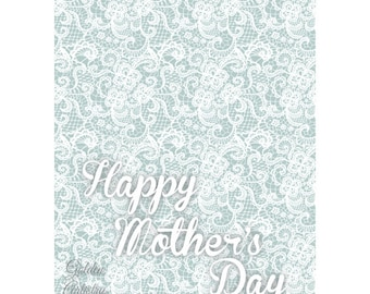 "4x6"" Mother's Day Card 2—Digital Download"
