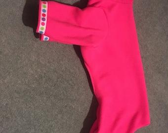 "Hand made 16"" dog onesie/pyjamas"
