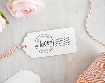 Valentines Mail Stamp | Love Stamp - Postmark Stamp - Valentines Mail - Valentines Stamp - Happy Valentine's Day