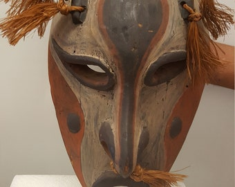 I liked it so, I purchased it. Vintage AFRICAN Mask