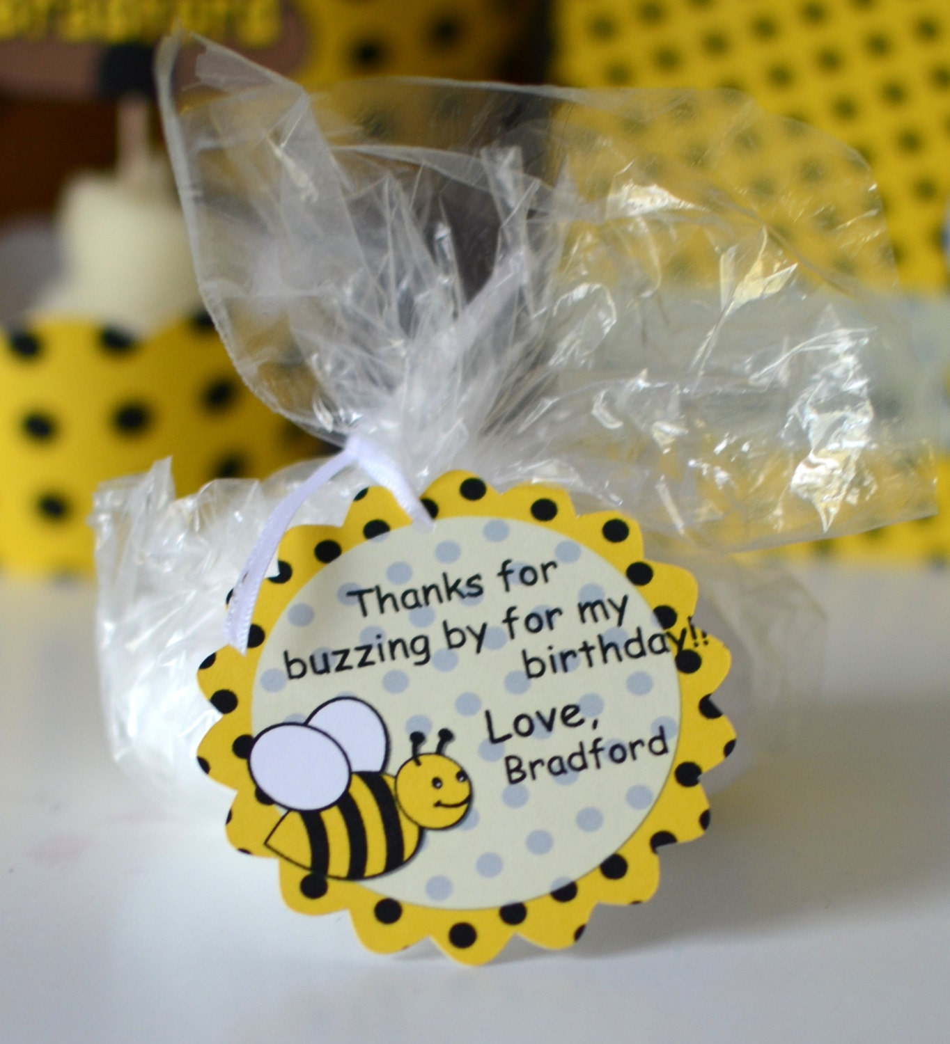 Bumble Bee Birthday Party Favors Baby Shower Zoom Ptc Cofo Choice Image
