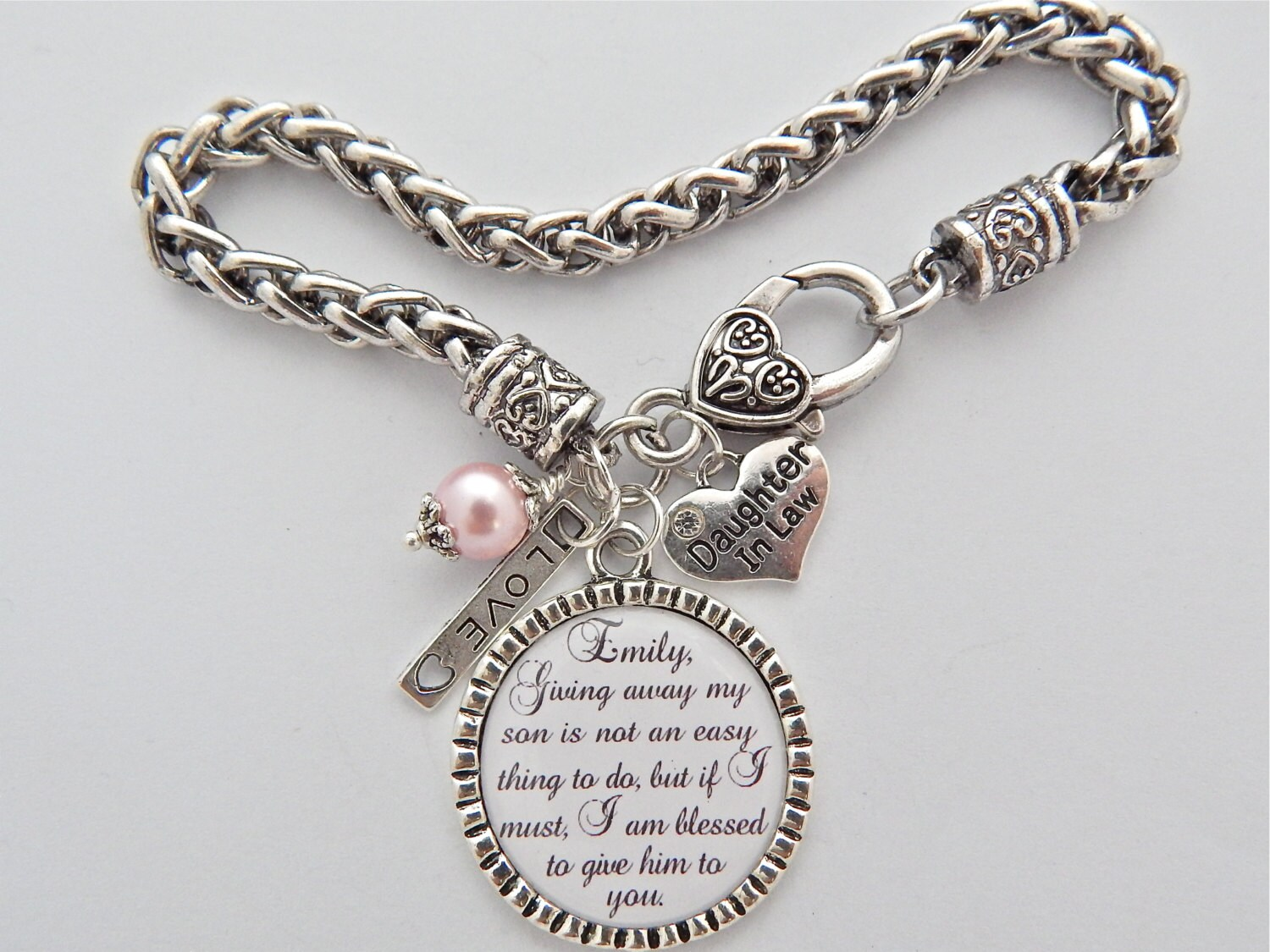 Future Daughter in Law BRACELET Daughter in Law Gift BRIDE