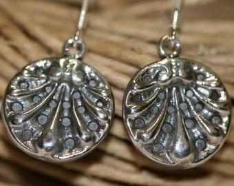 Silver Earrings,Sterling Silver Earrings , Silver Earring, Handmade 925 Silver Earrings, Dangle Earrings,