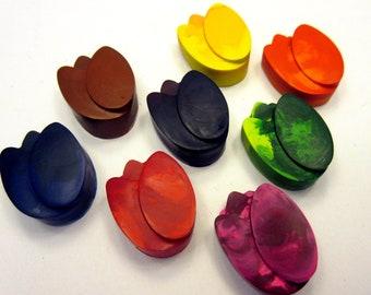 Set of 8 Vibrant Tulip Crayons