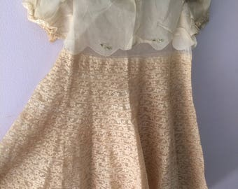 1920s Wedding Flower Girl Dress
