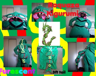 RAYQUAZA Legendary  KIGURUMI / Onesie from POKEMON