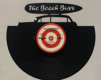 BEACH BOYS Vinyl Record Wall Art