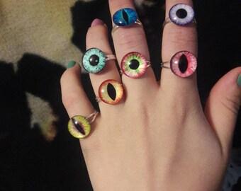 Dragon Eye Rings