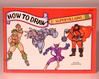 Learn To Draw, How To Draw Book, How To Draw, Draw Art Book, Art Instruction Book, Kids Activity Book, Comic Book Drawing, Drawing Book Kids