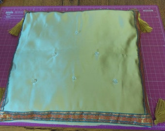 Eastern Inspired Cushion and Cover - Ivory