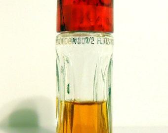 PERFUME Vintage 1950s Flambeau by Faberge 1/2 oz Cologne Splash DISCONTINUED