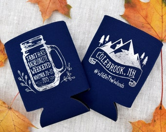 Customized Koozie Favors For Weddings Parties By